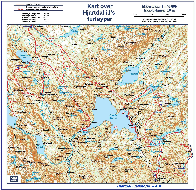 hjartdal kart Hjartdal Fjellstoge Praktisk Info hjartdal kart